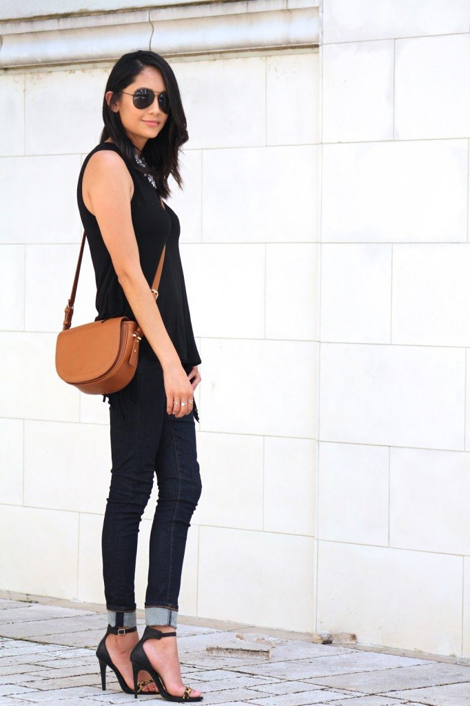 Black with Tan Accessories