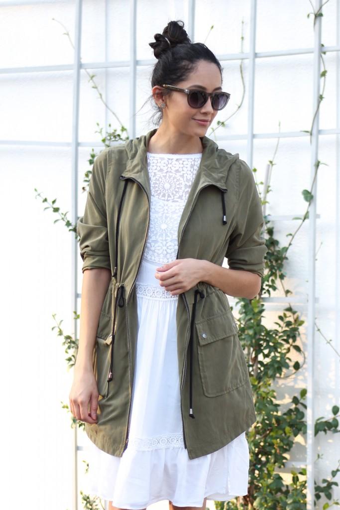 parka jacket & dress