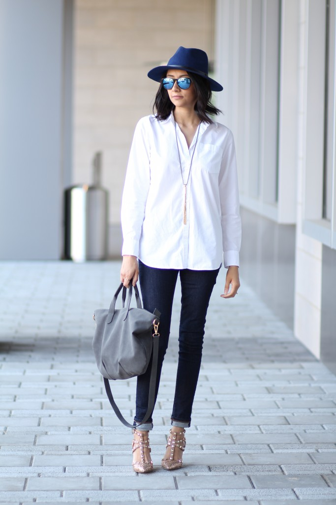 Chic weekend outfit, perfect for the holidays.