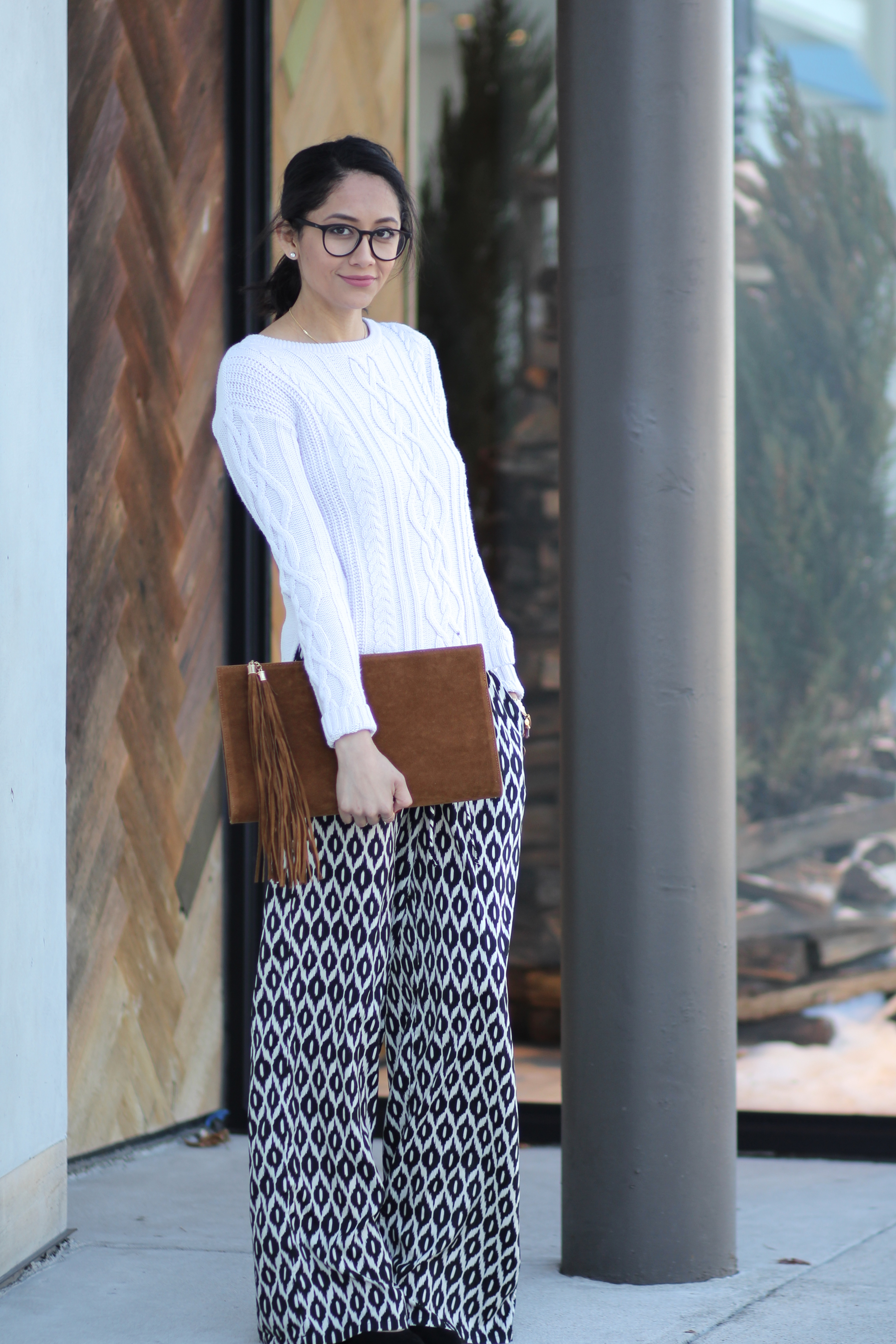 Boho Chic printed pants
