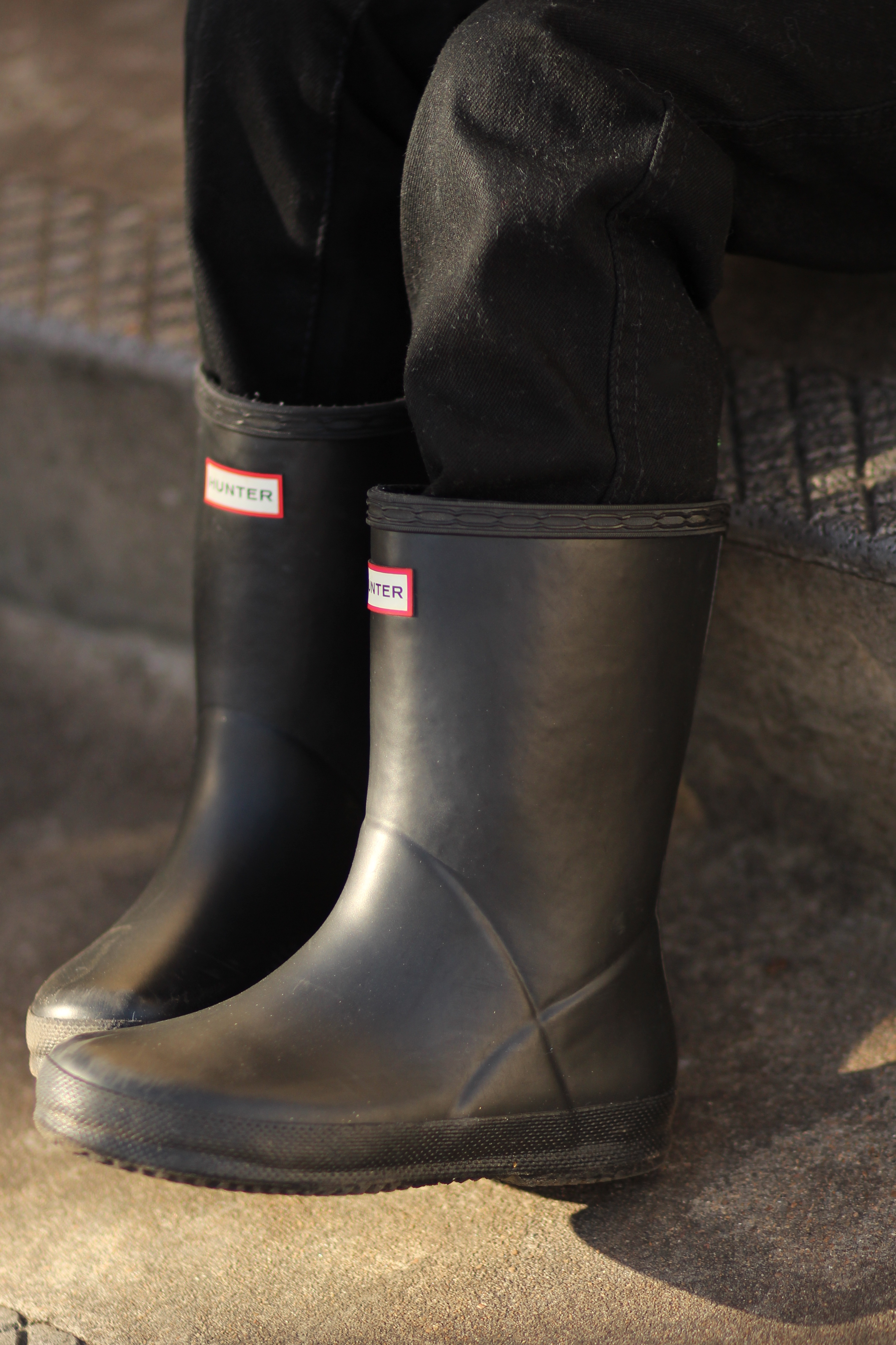 hunter boots for little boys birthday outfit