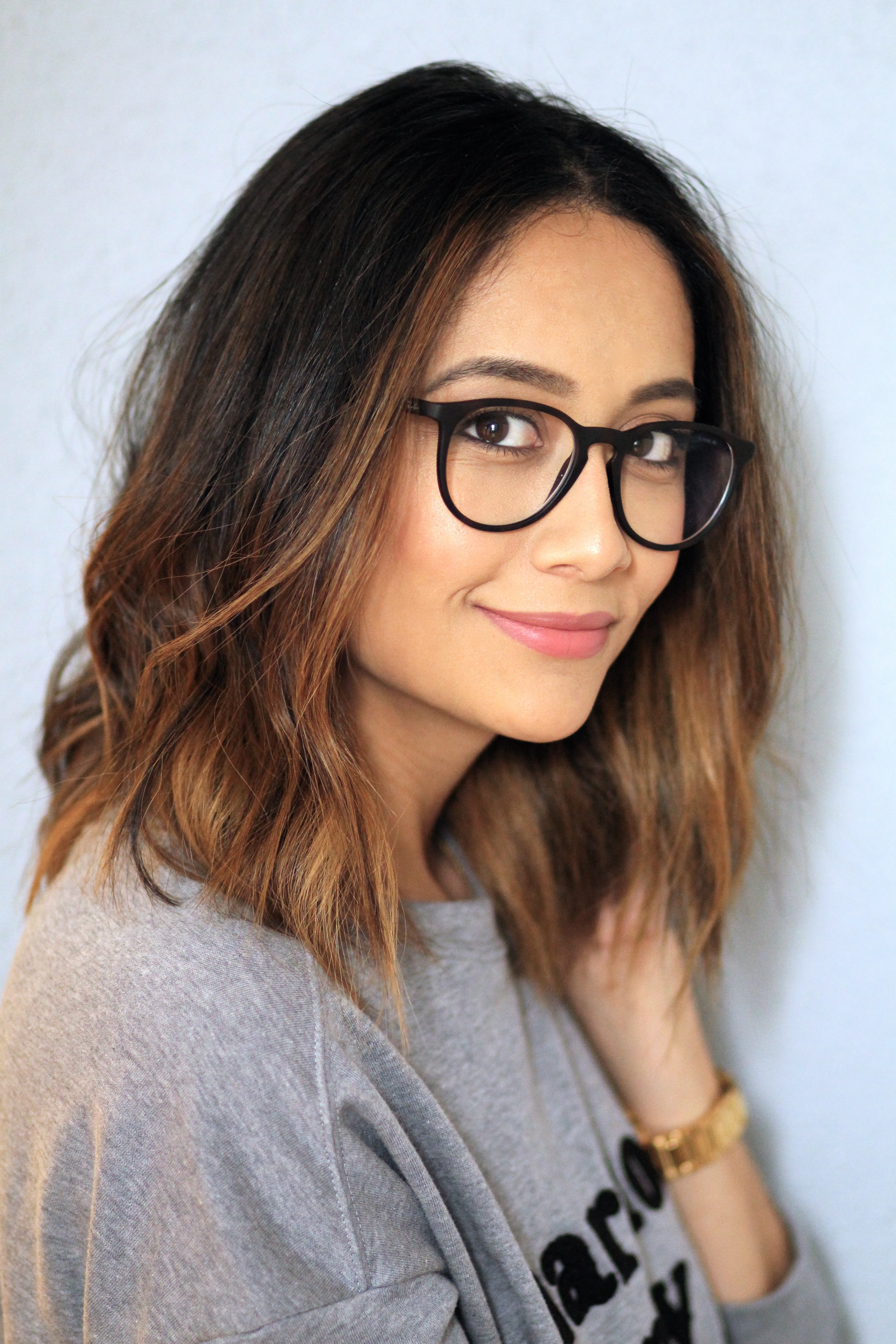 My new hair care routine daily craving - Ombre hair carre ...