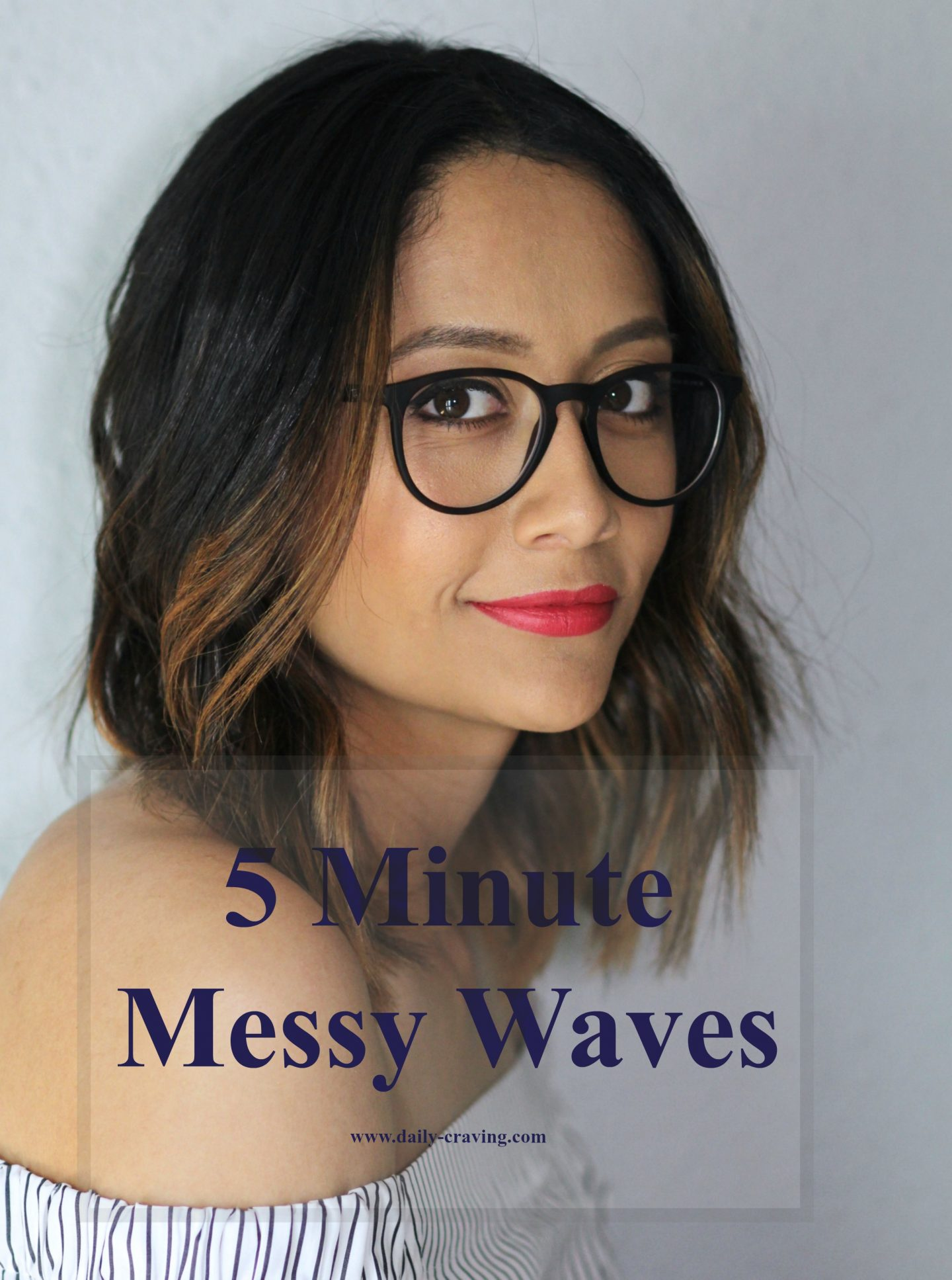 5 Minute Messy Waves
