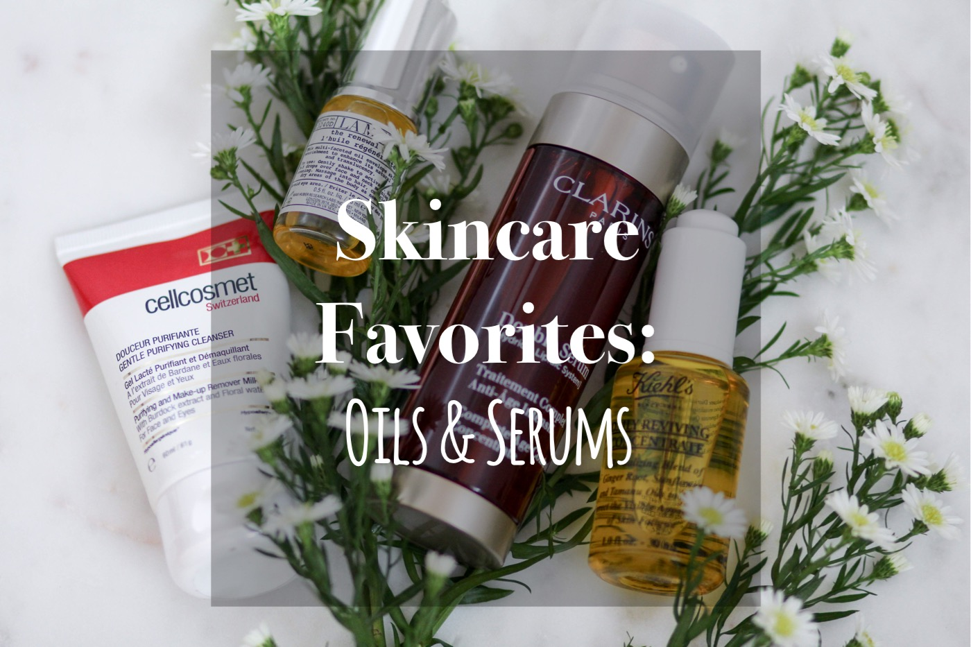 My Current Skincare Favorites: Oils & Serums