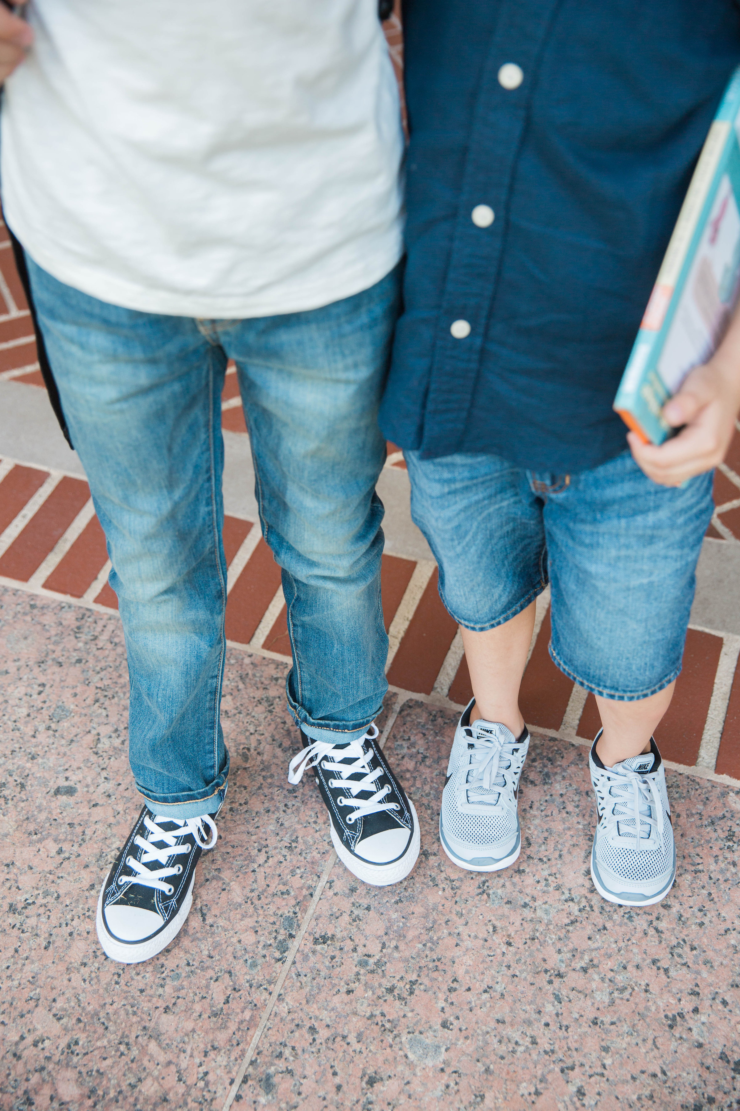 Back to school shoes for little boys