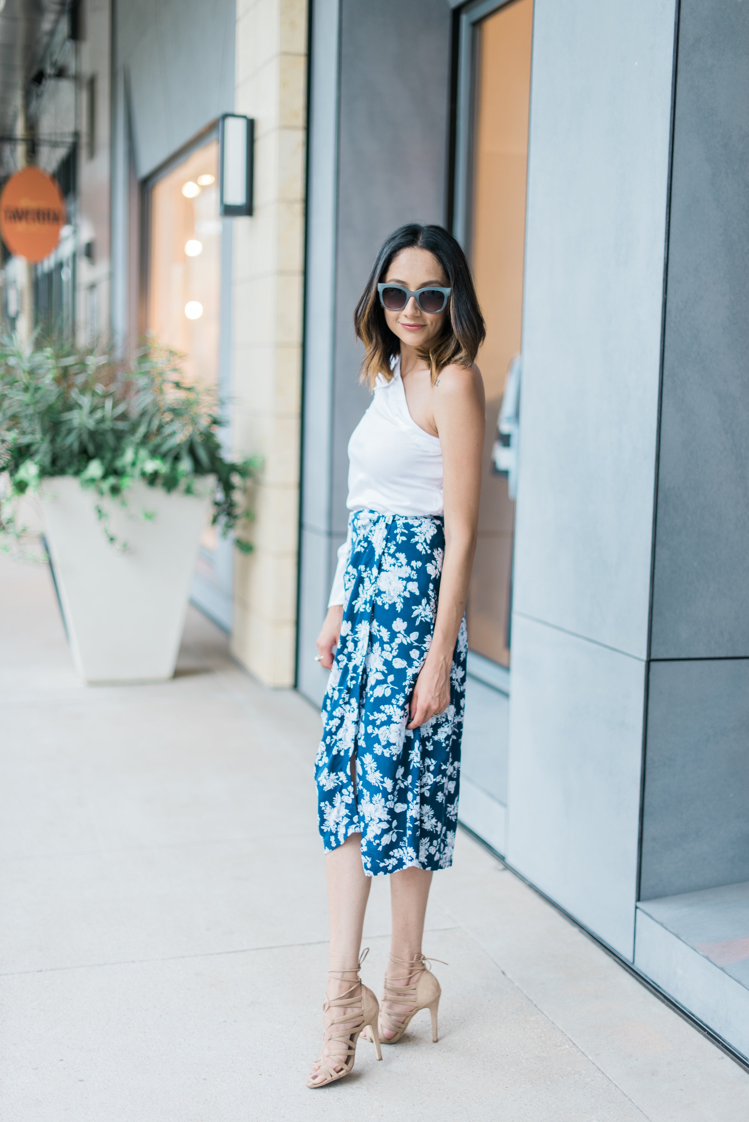 date night look | wrap skirt