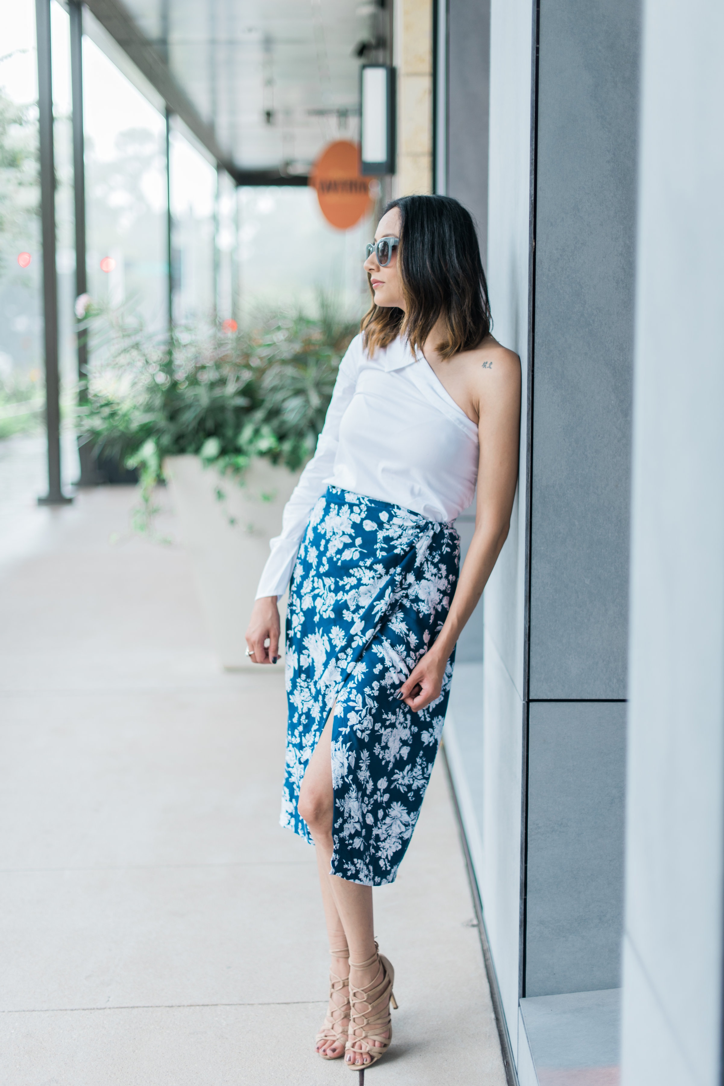 How to style a wrap skirt | Summer Look