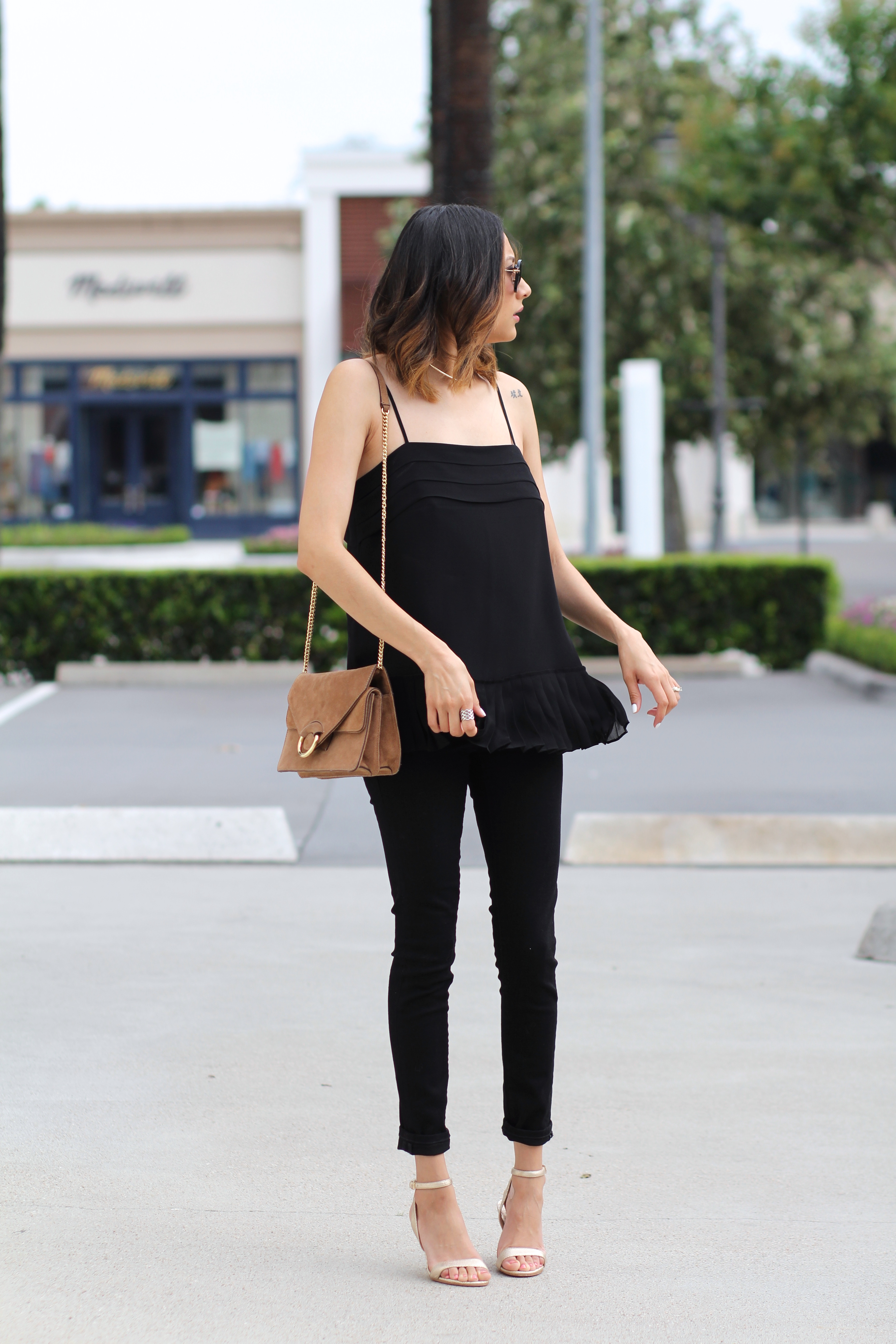 Minimal Sophistication | All black look