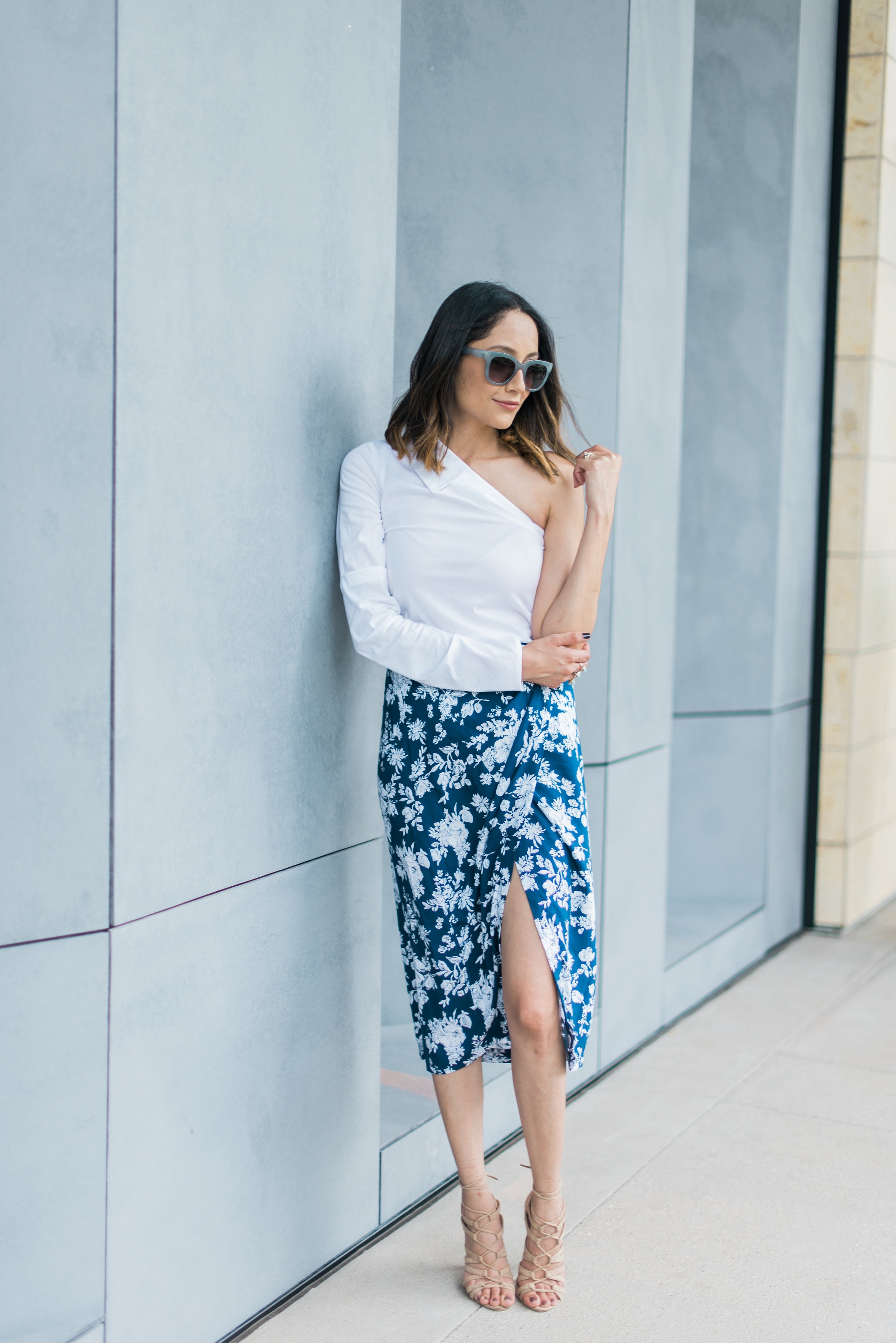 Chic wrap skirt