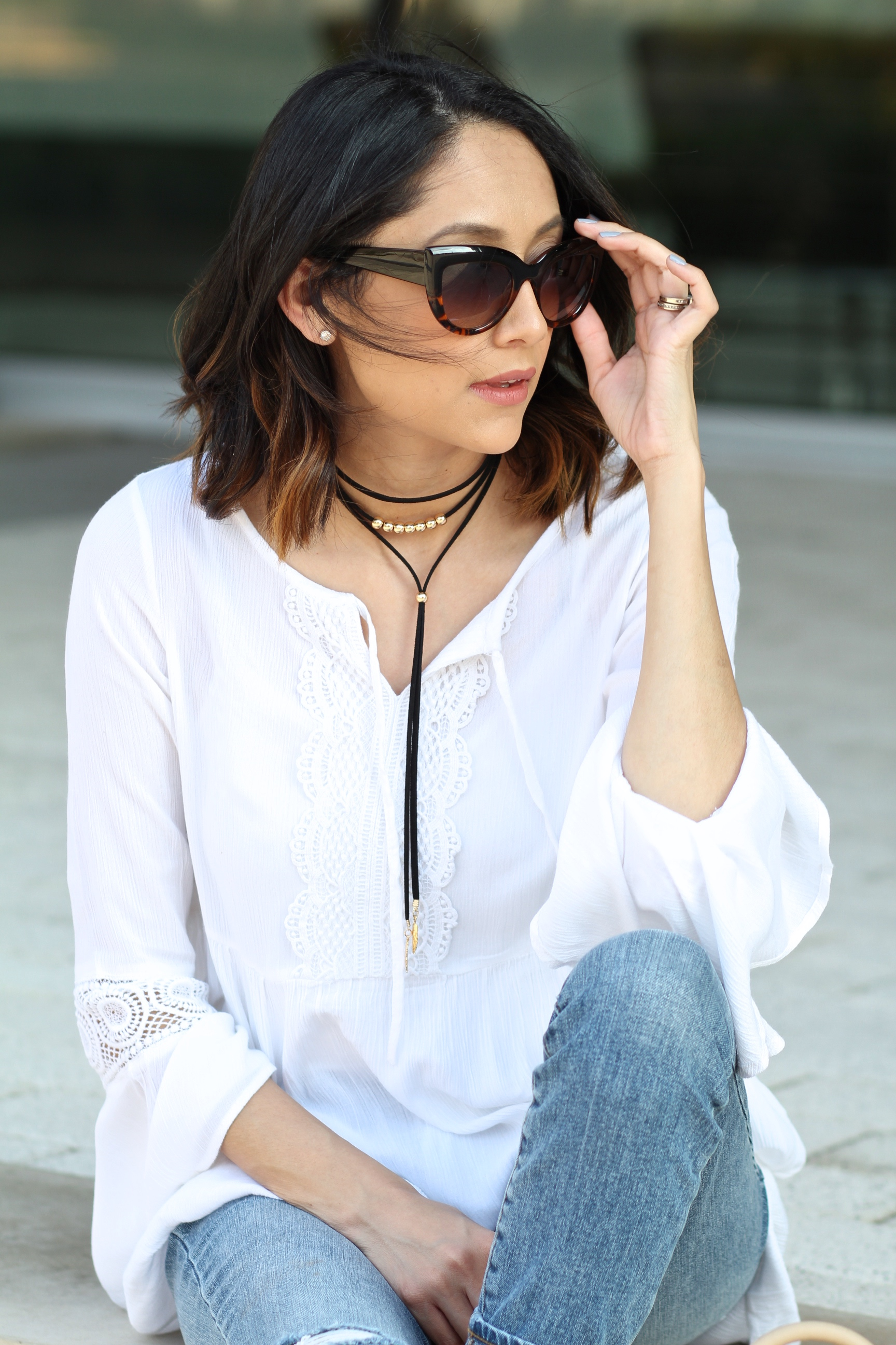 how to accessorize a casual weekend look