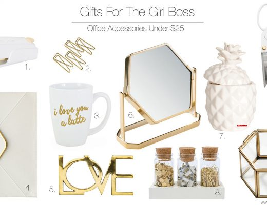 Gift guide for the office gal