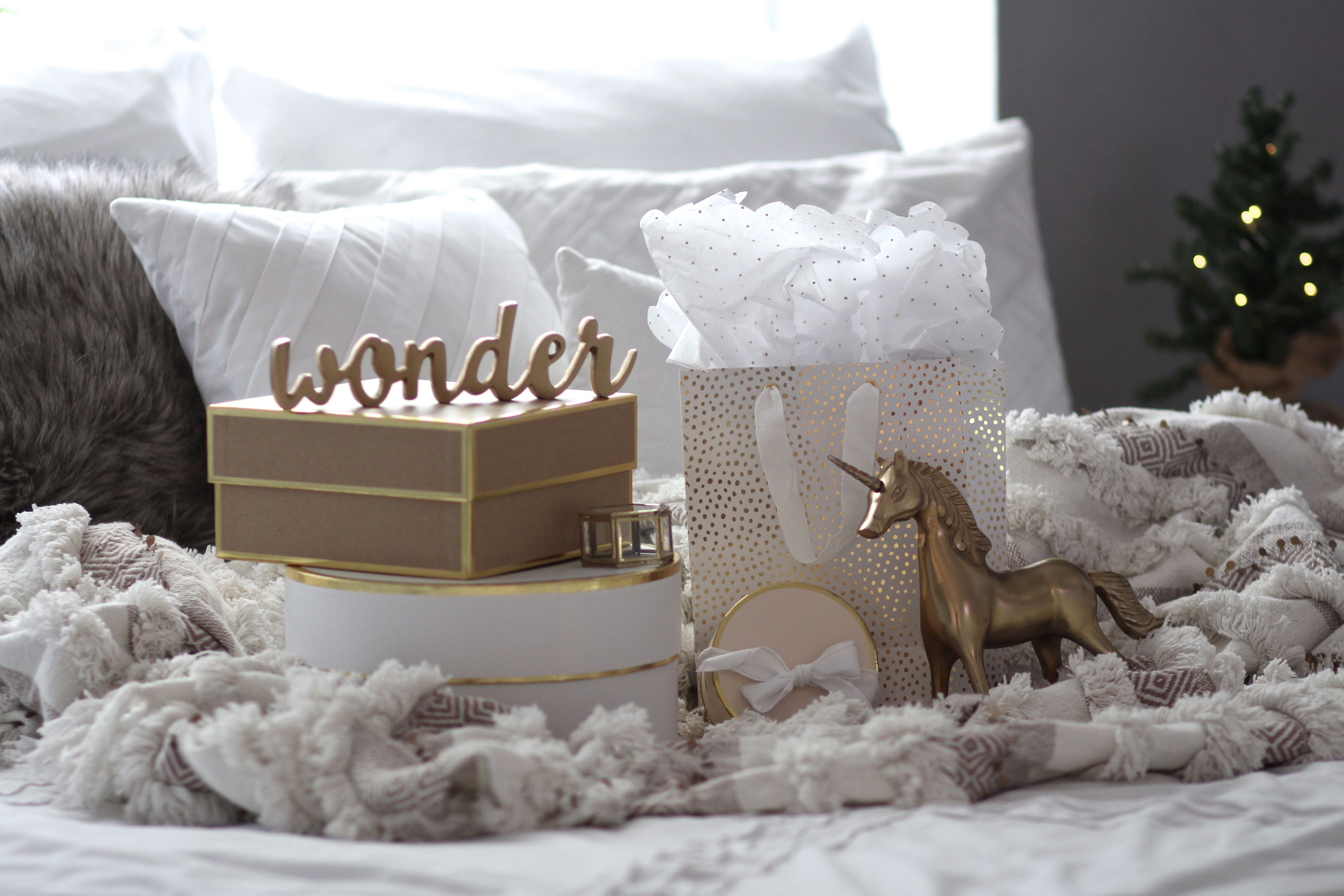 Gold home decor from Marks & Spencer