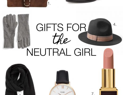 neutral gift guide