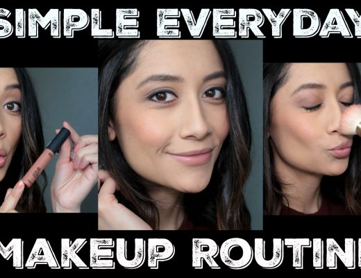 Simple makeup routine