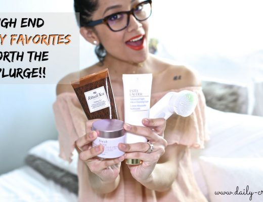 High end Beauty Favorites worth The Splurge