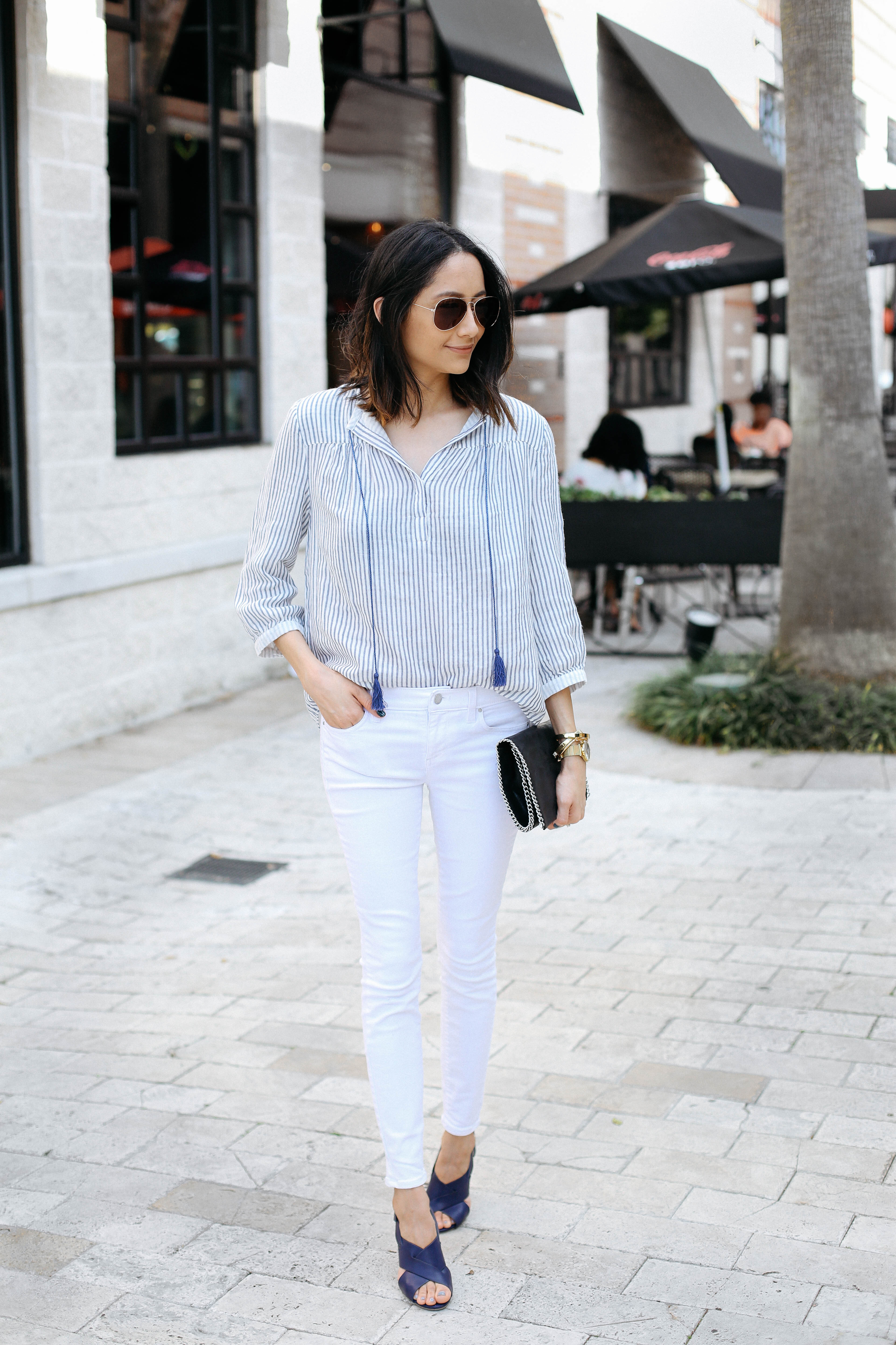 Spring chic in Margaret O'Leary