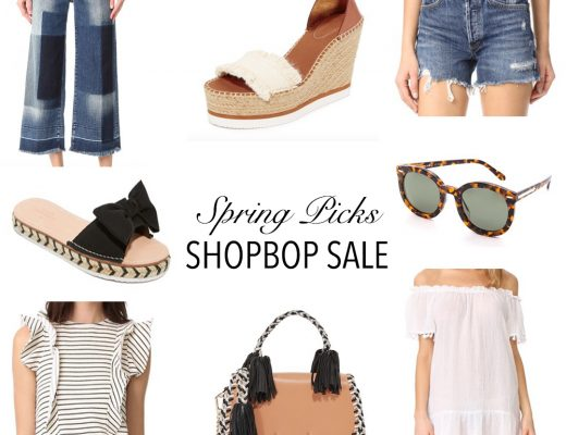 Shopbop Sale Spring Picks