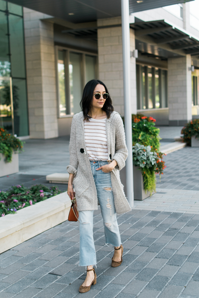 Effortless & chic weekend outfit