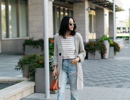 effortless weekend look