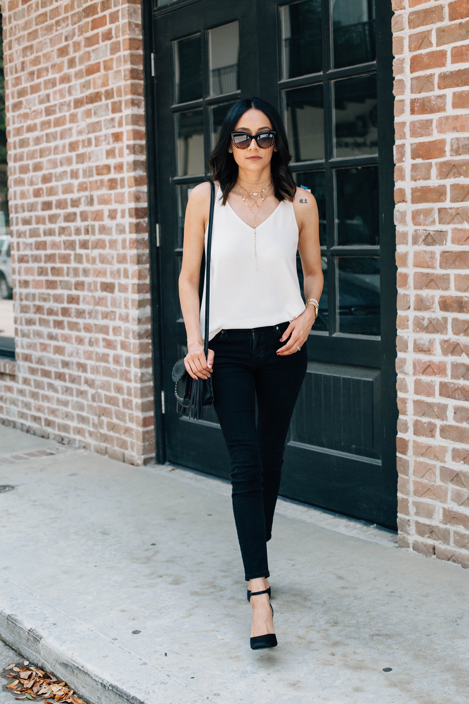 Minimal Chic | Wardrobe Staple | Silk Camisole