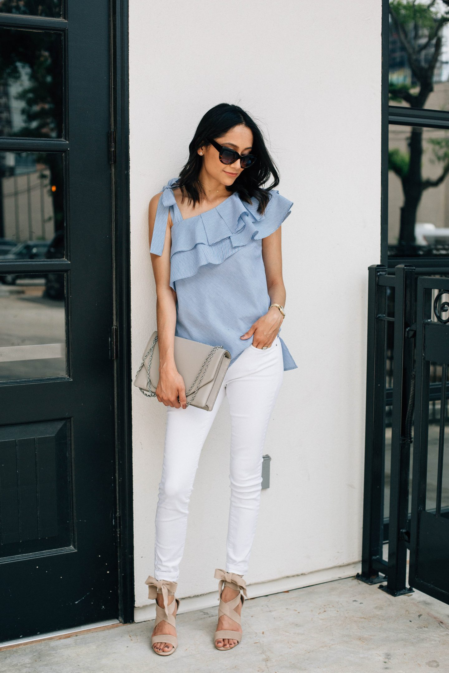 Summer Brunch Date Outfit With Dillard's
