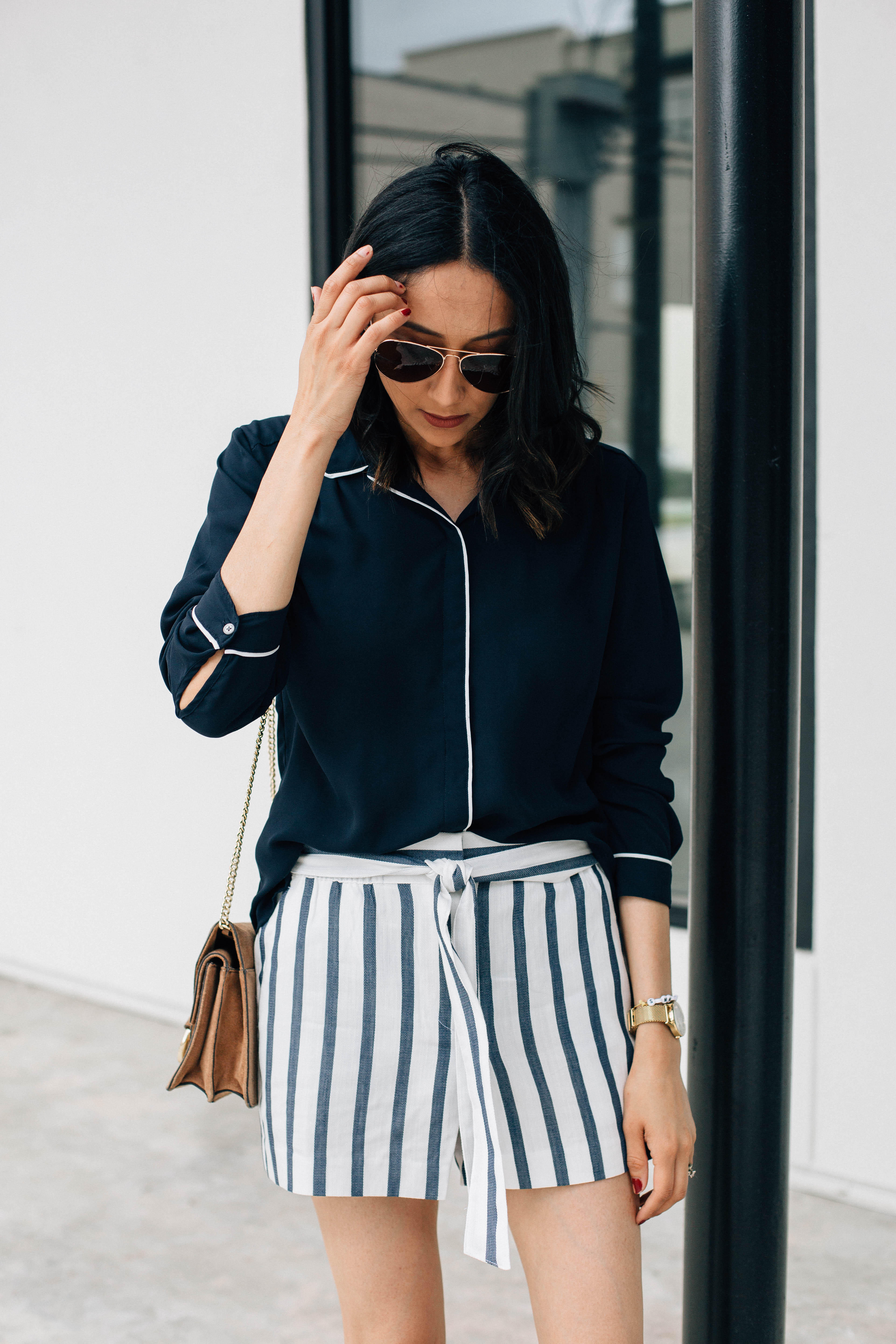 Five summer shorts under $50 | Striped shorts
