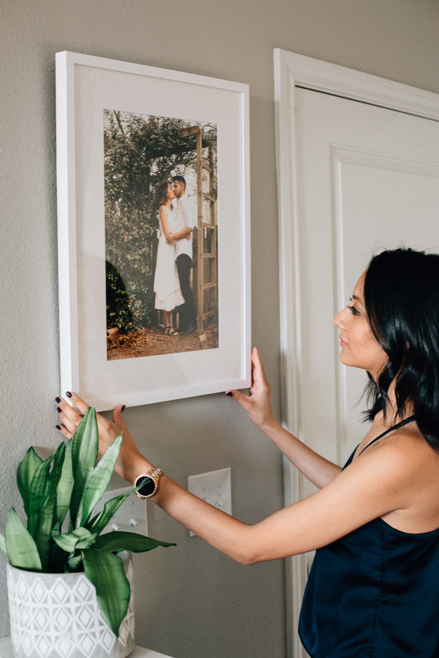 Lilly Beltran of Daily Craving blog celebrates 10 years of marriage with Framebridge