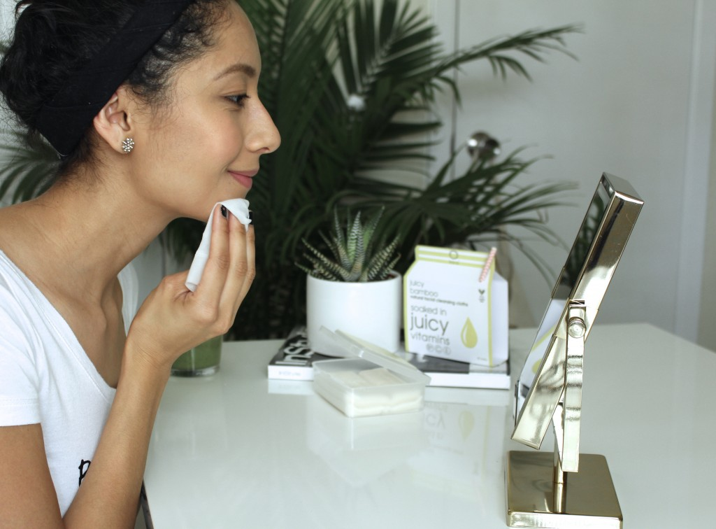 natural make up removing wipes