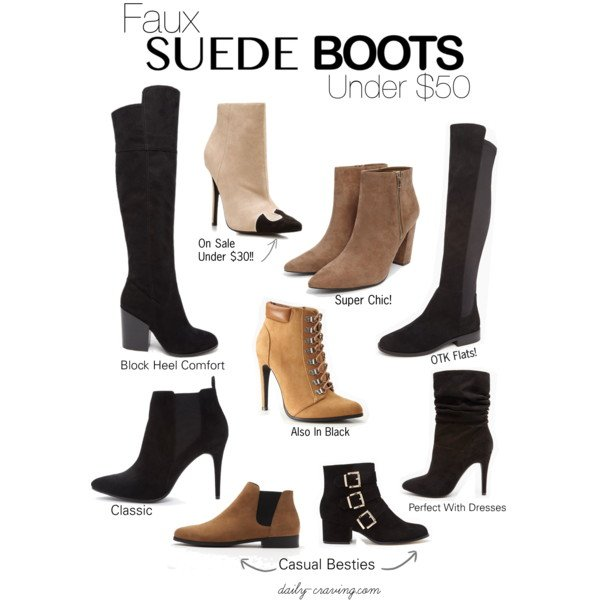 Budget Friendly Boots