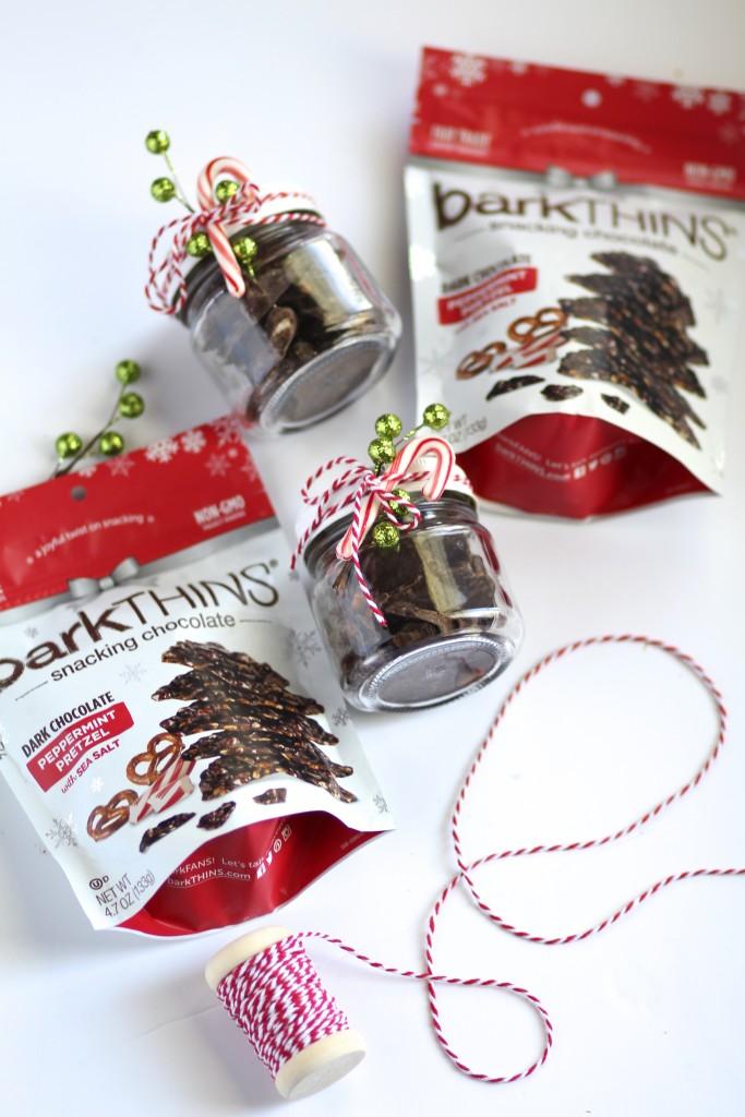 DIY christmas gift idea using mason jars