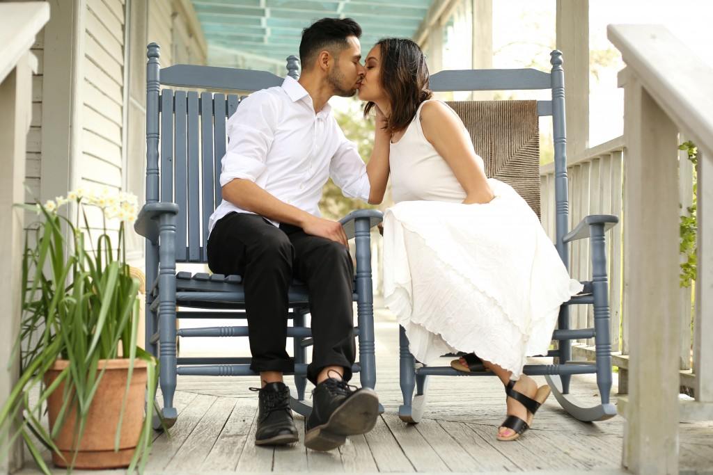 A true love story with style blogger Lilly Beltran of Daily Craving and husband Erick