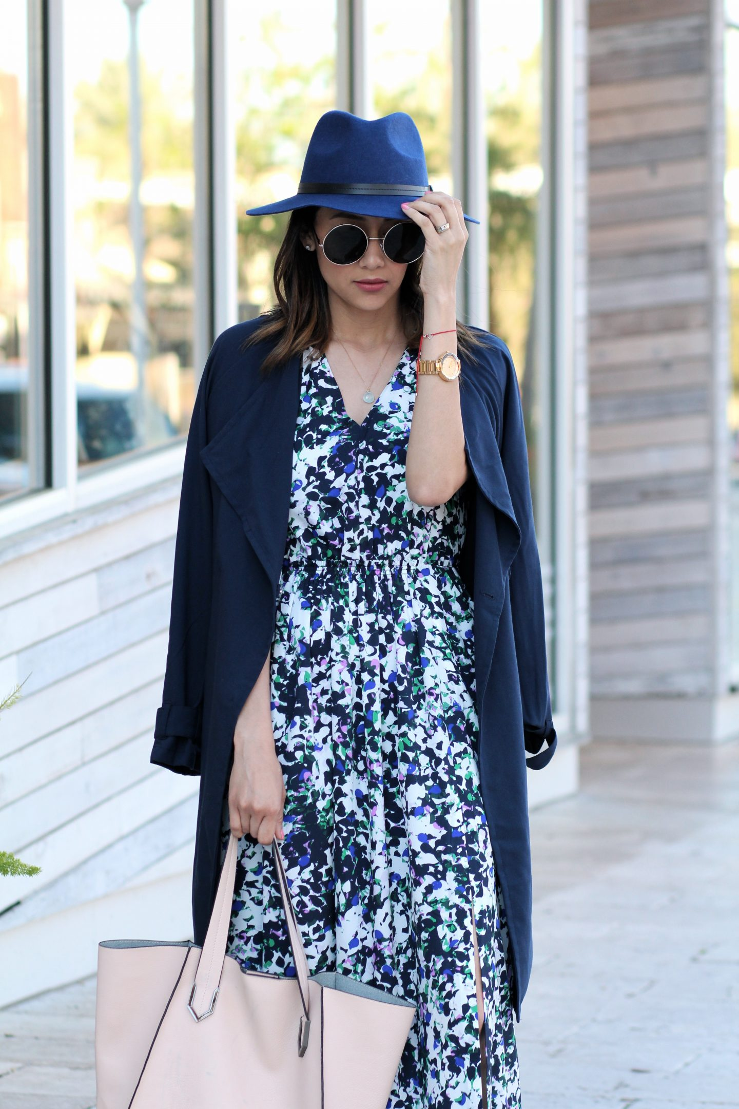 how to wear spring florals this season