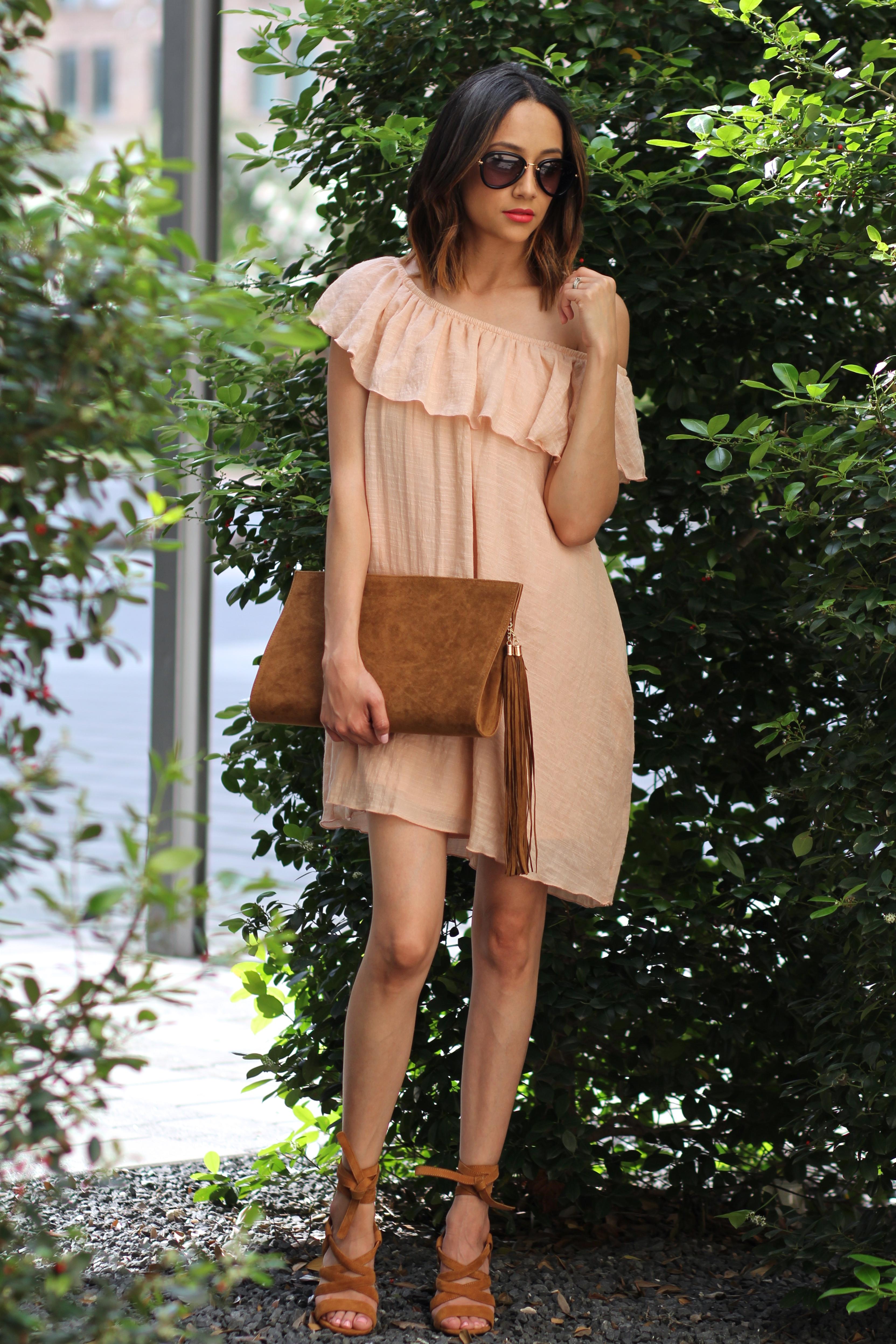 summer perfect off the shoulder dress