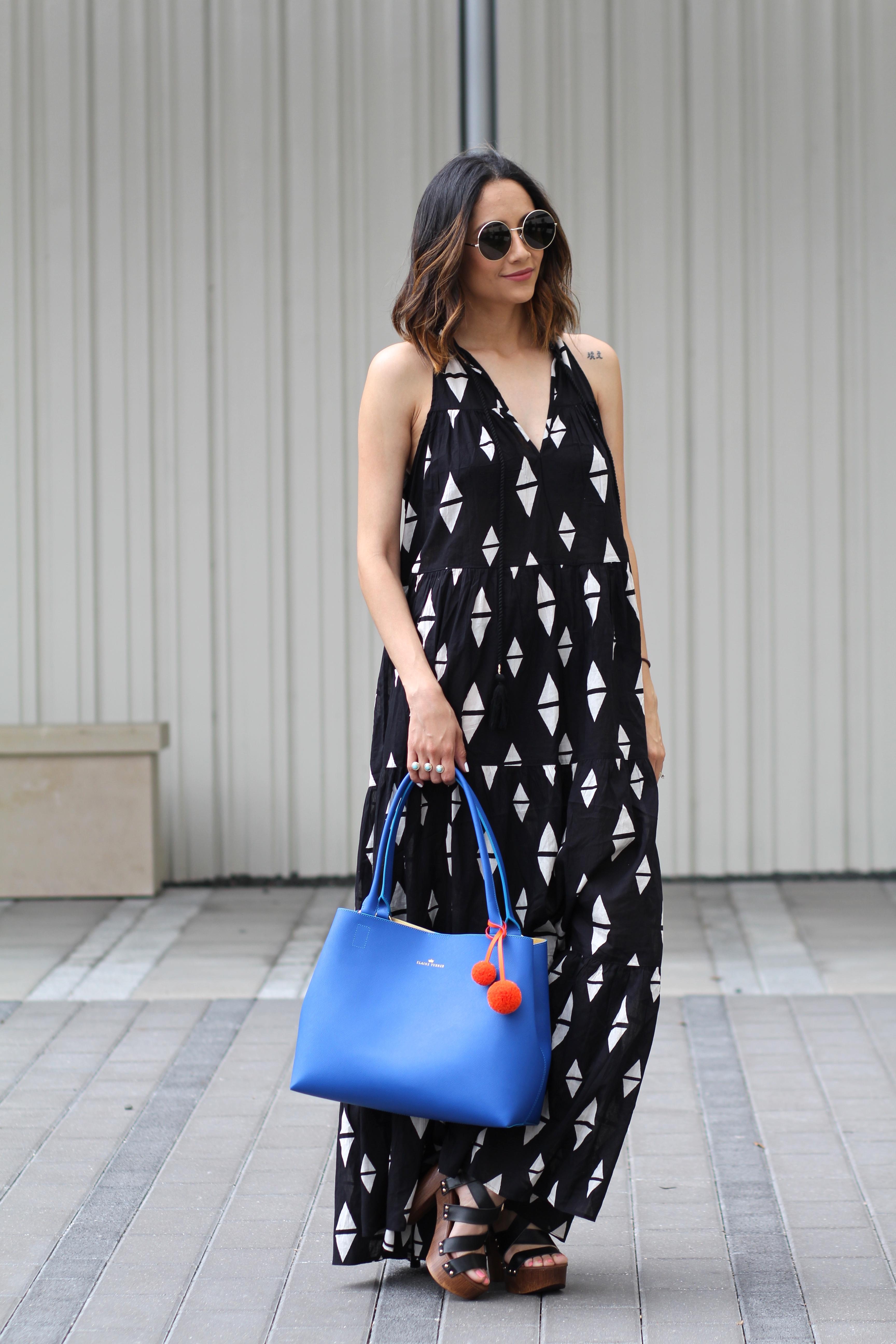 How to wear prints, pom poms & platforms