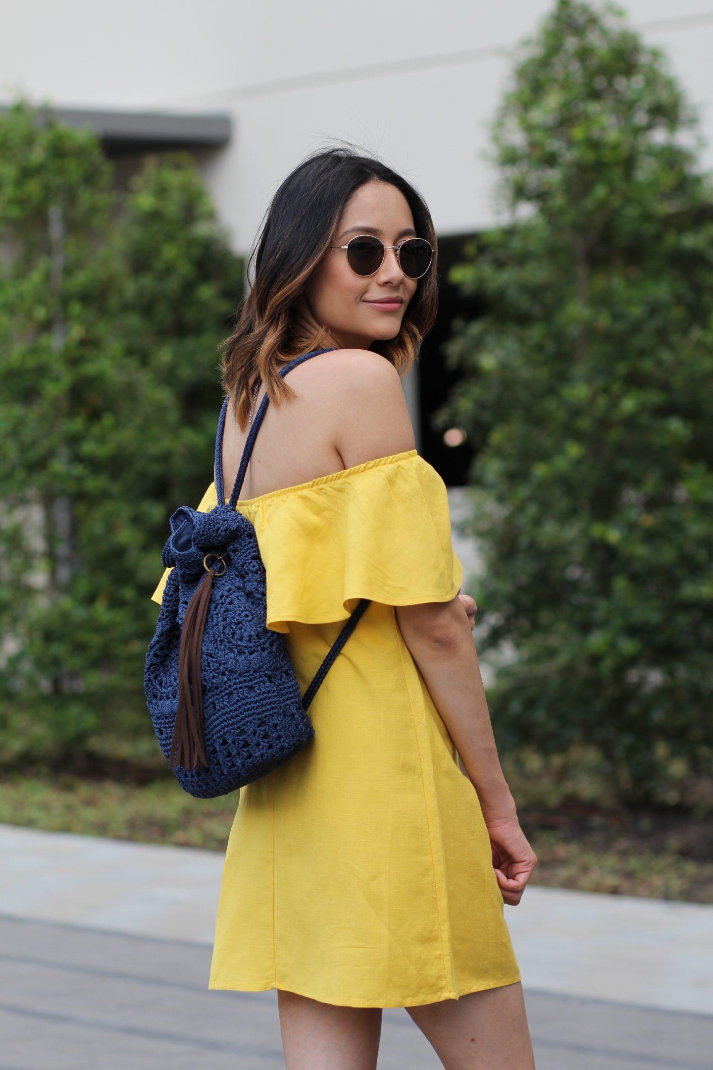The Sak Sayulita Backpack | Crocheted Bag |