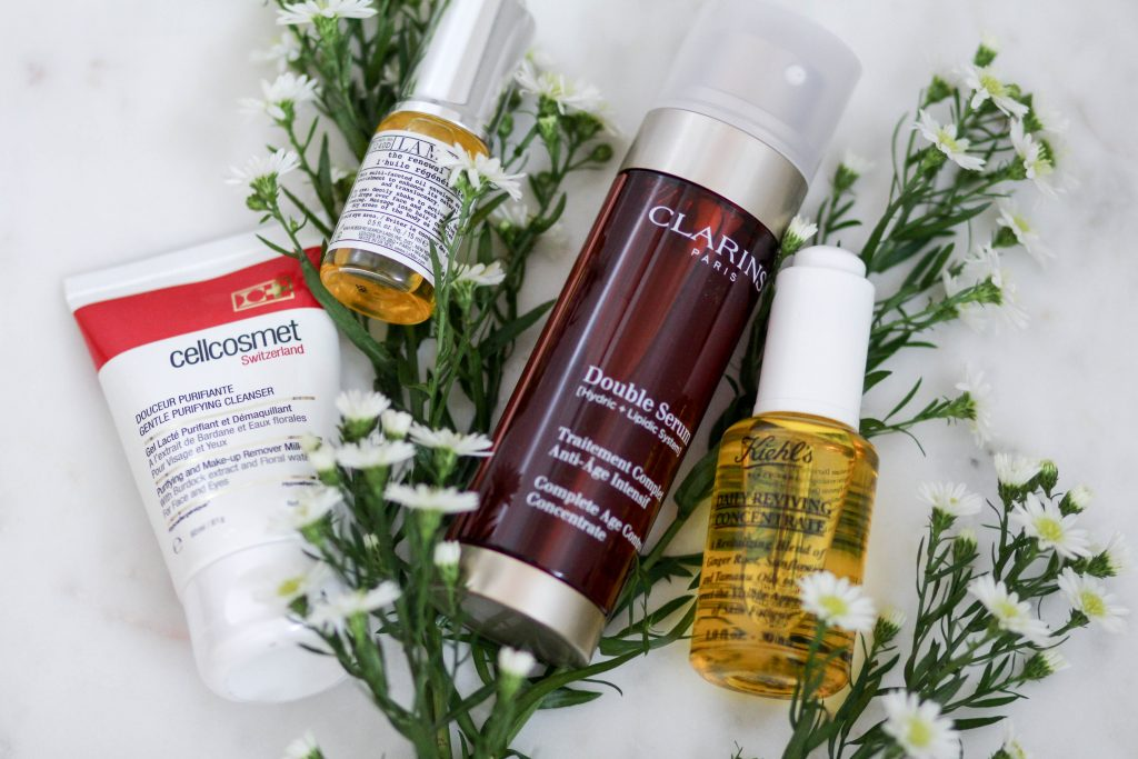Skincare favorites: Oils & Serums