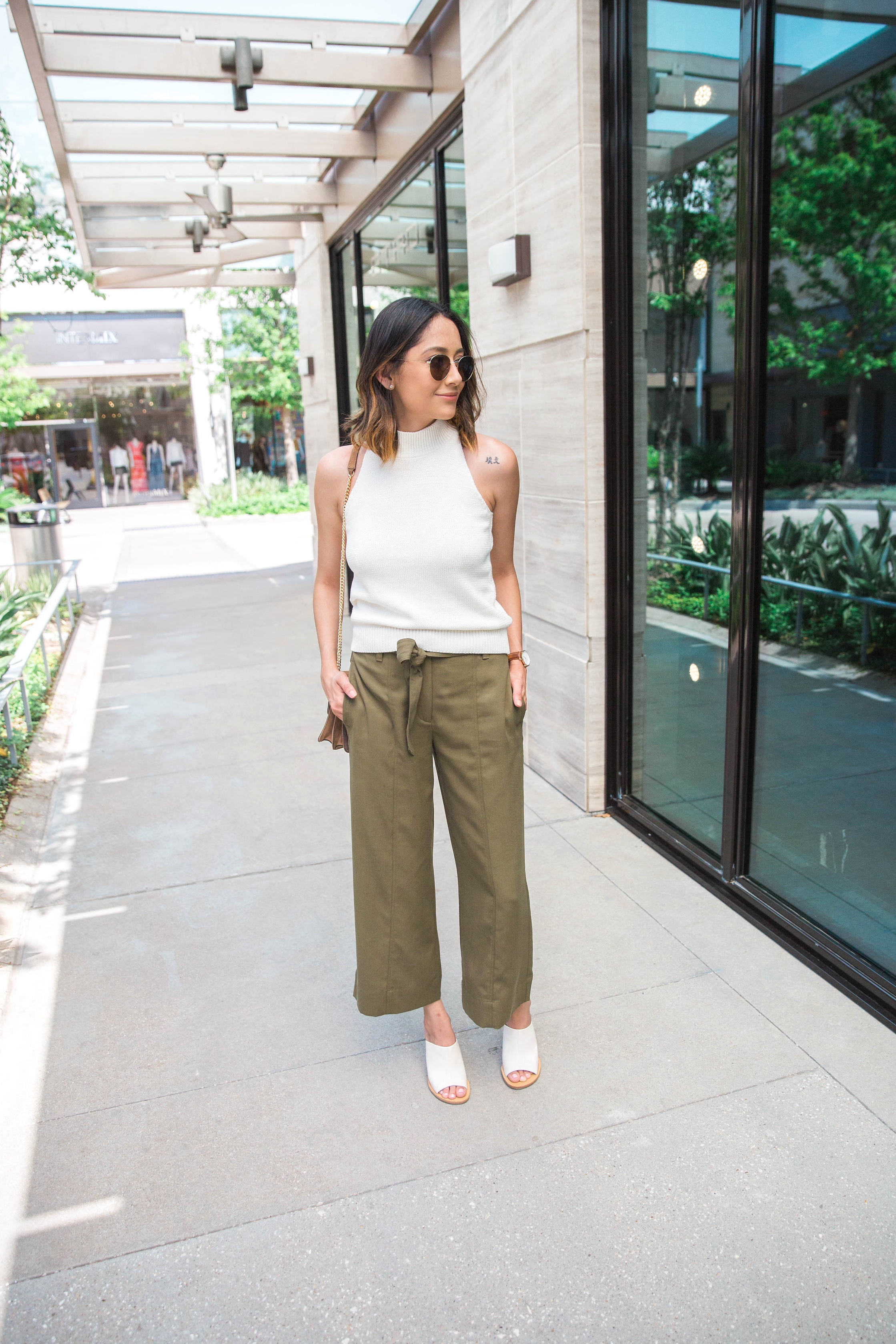 Transitional Pieces You Need In Your Closet Now | Culottes | Sweater Top | Street Style