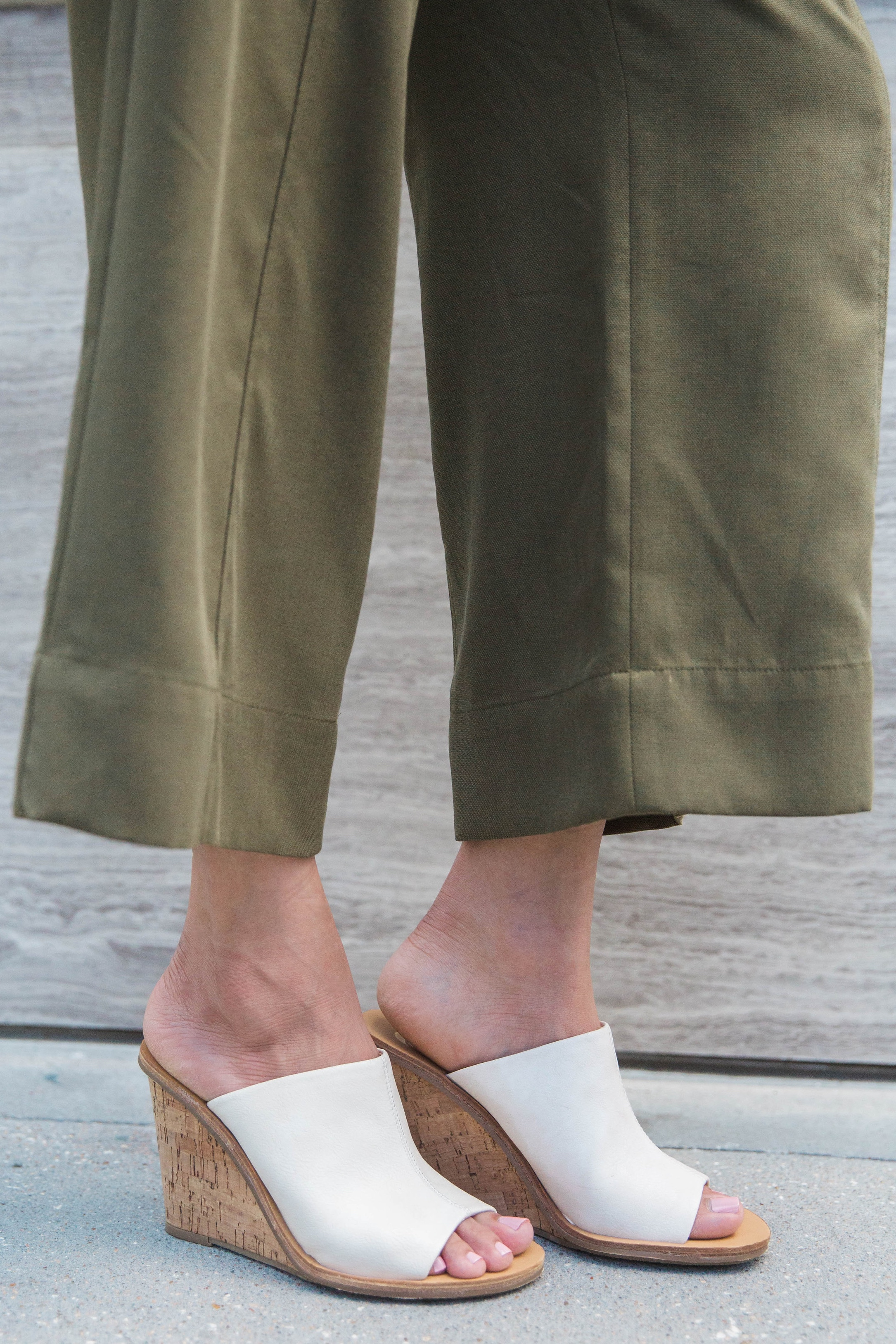Transitional Pieces | Slip-On Wedge Sandals