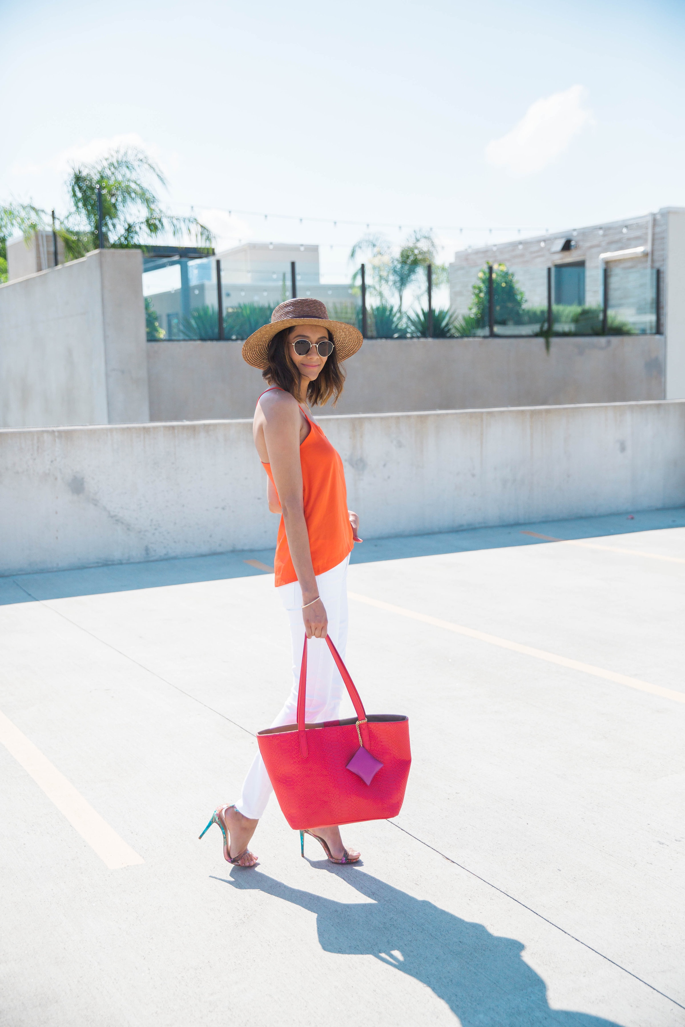 How To Wear A Color Blocked Summer look