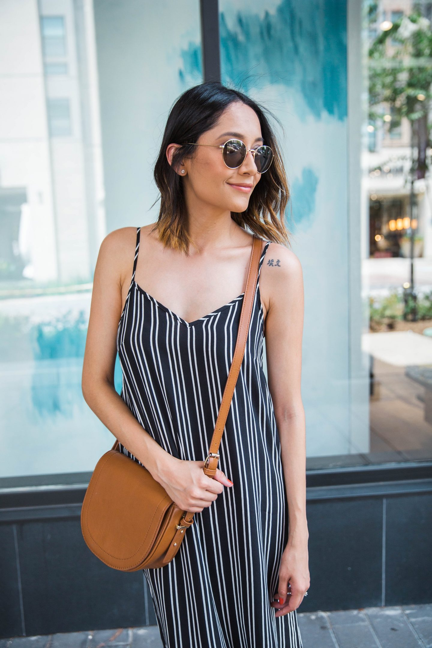 An Easy Way To Style A Slip Dress