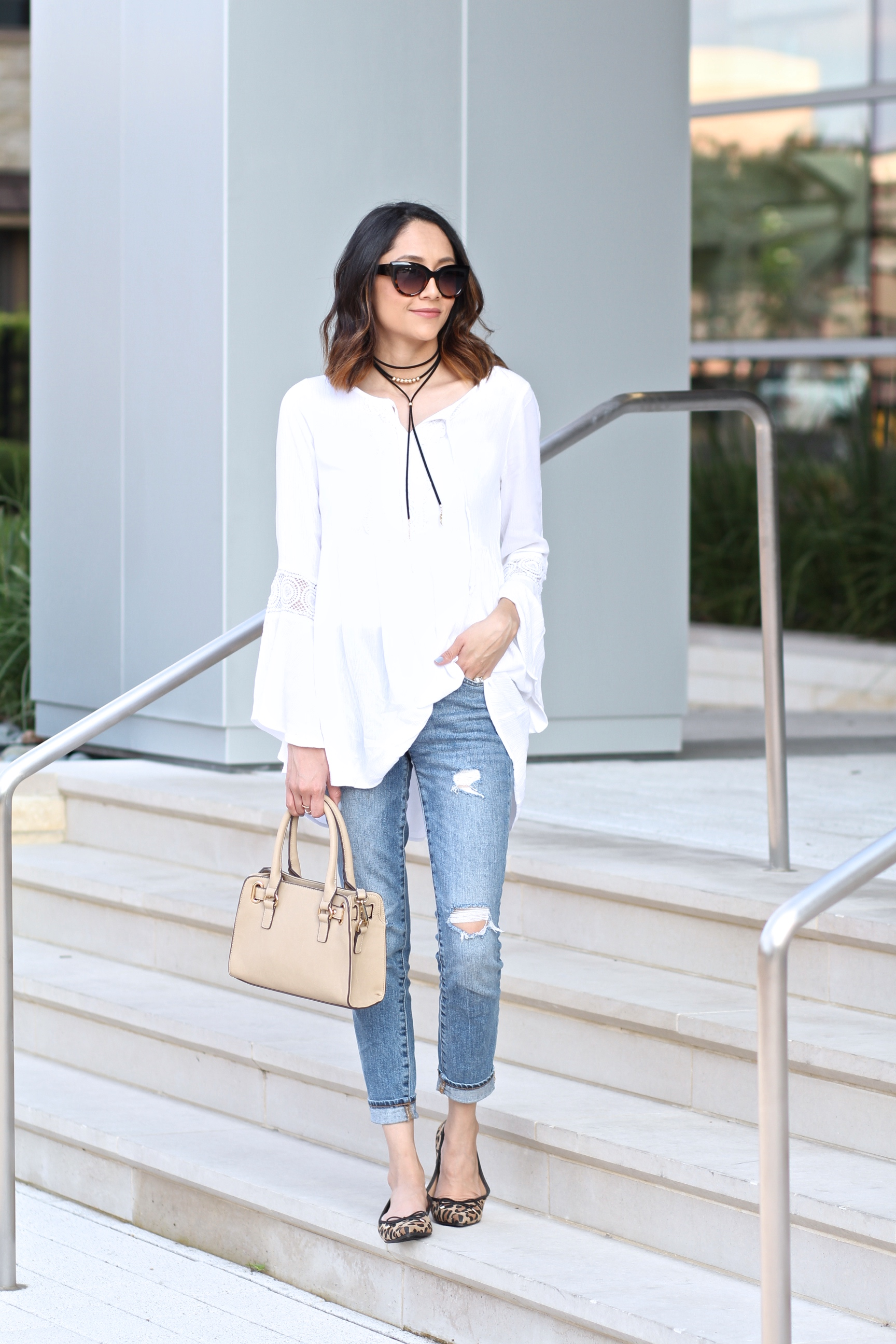 A casual weekend look under $100