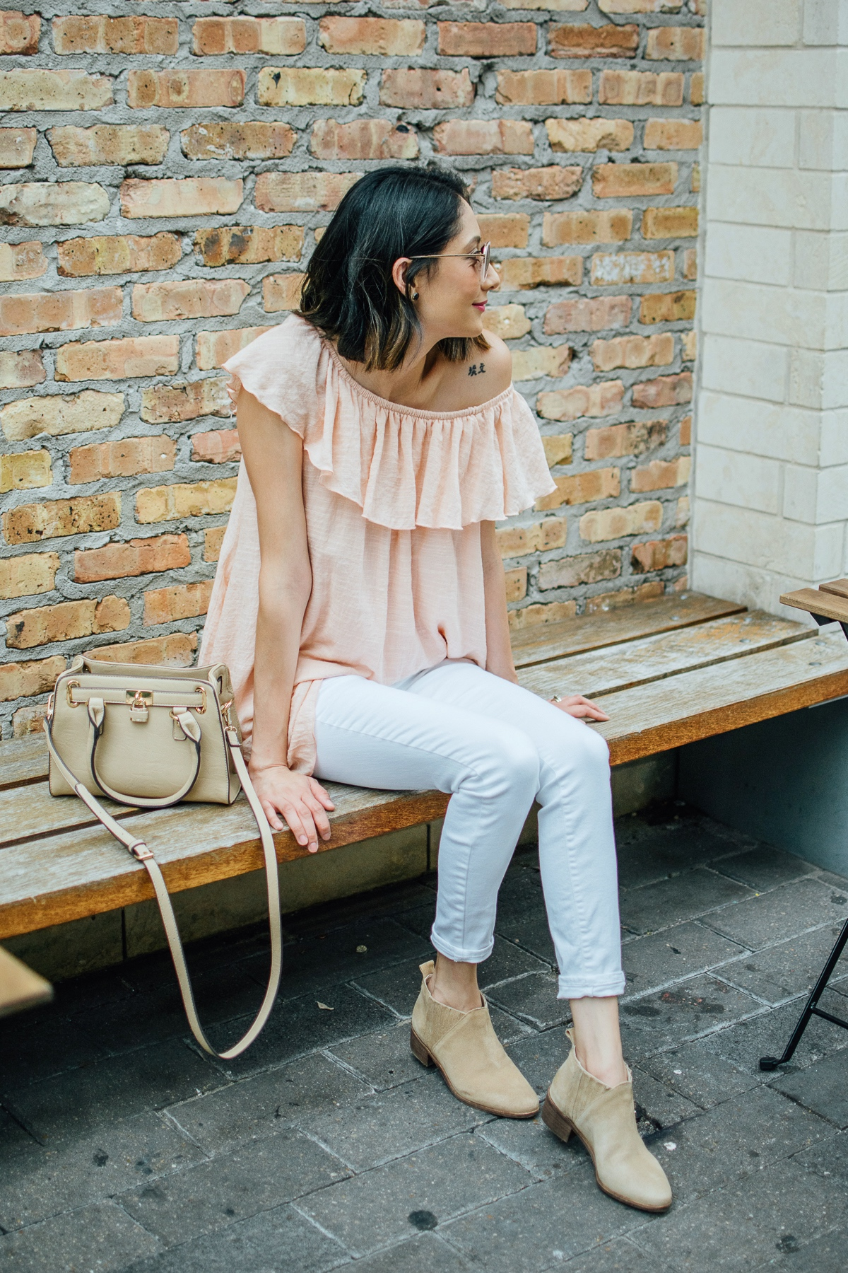 transitioning to fall with a pair of booties