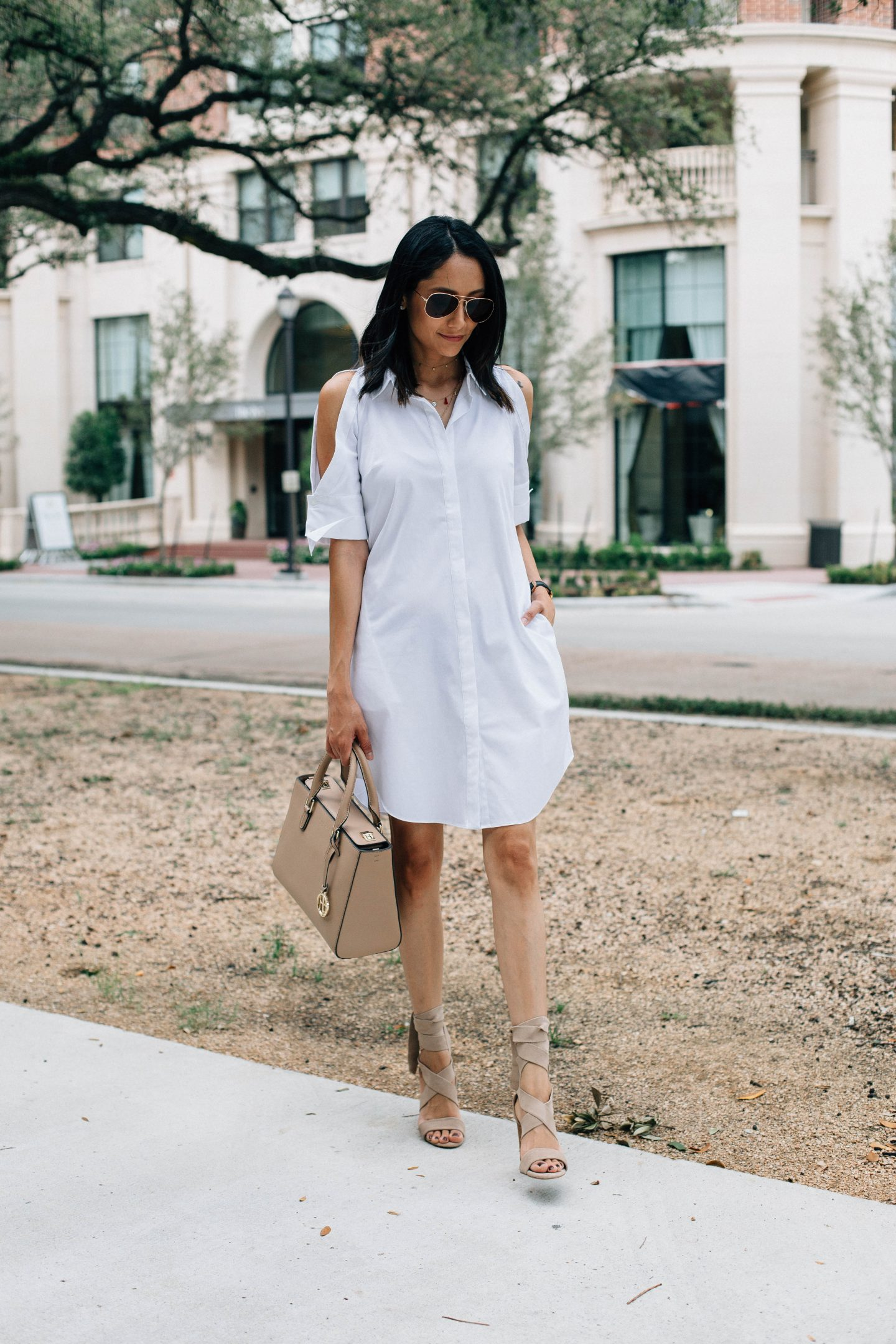 An Easy Way to Style A White Dress This Summer