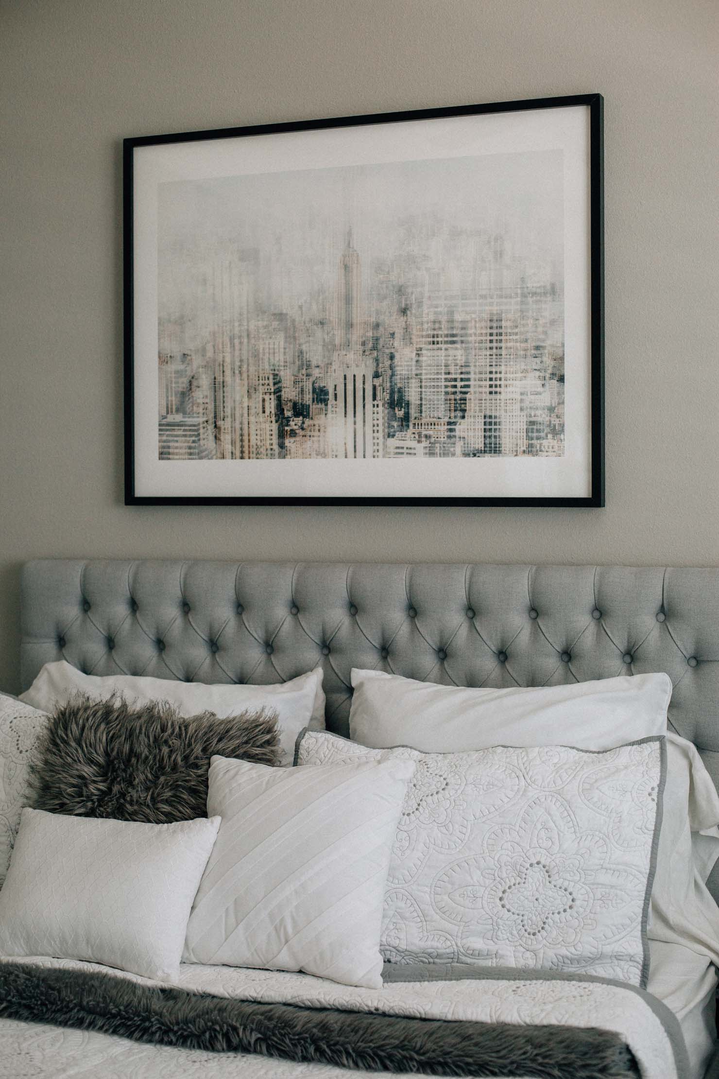 Lifestyle blogger Lilly Beltran of Daily Craving shares her master bedroom reveal