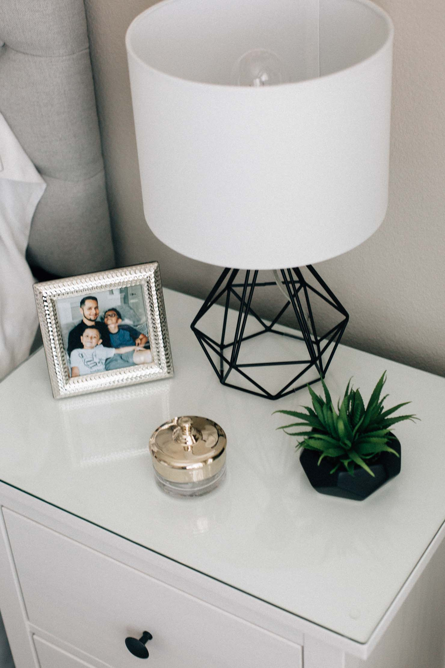 Lilly Beltran of Daily Craving blog shares her master bedroom reveal pictures