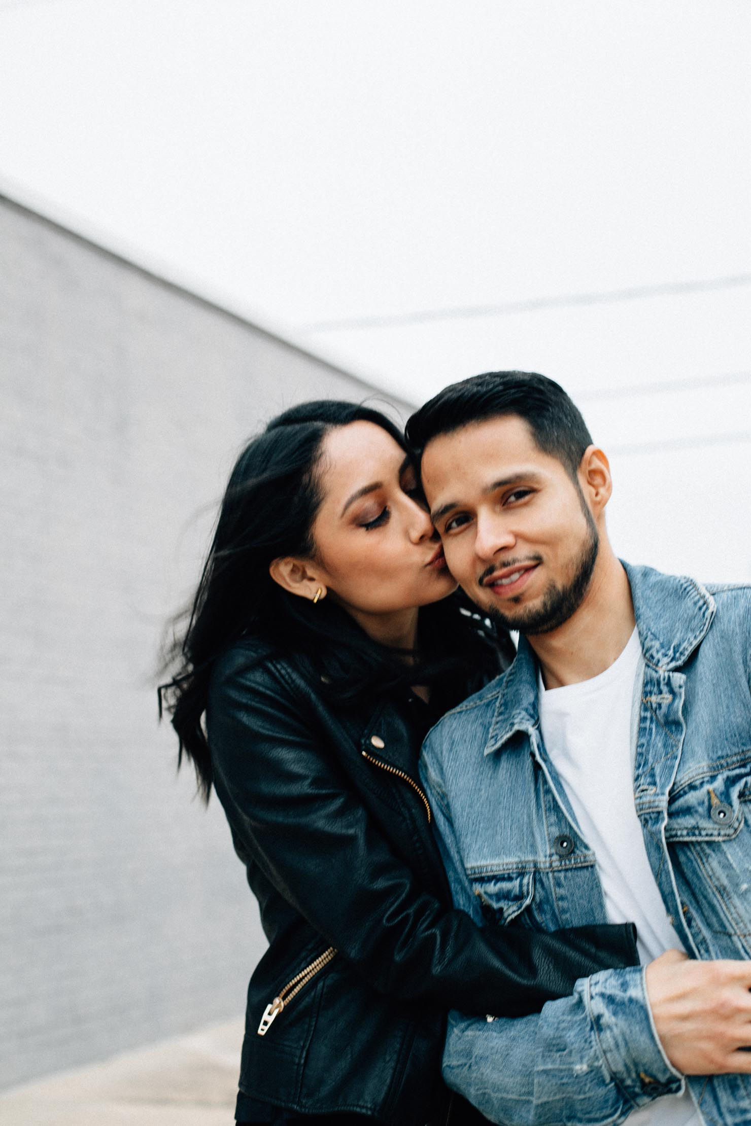 Two lessons I learned in 2017 | Leather jacket for her & Denim jacket for him