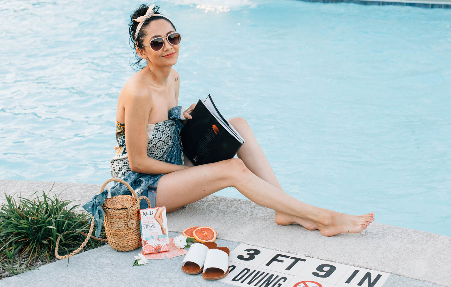 Beauty blogger Lilly Beltran of Daily Craving blog shares her tips for achieving smooth skin for bikini season