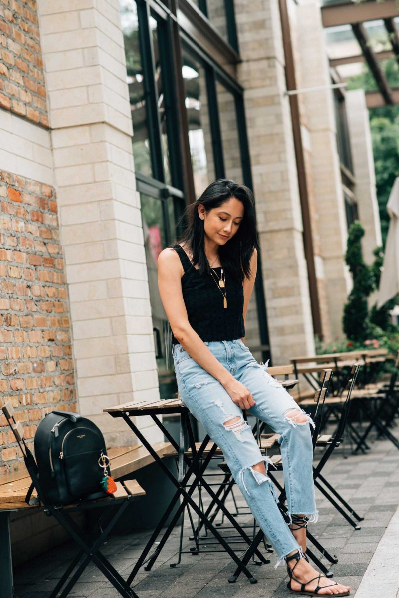 Trends For Less: Eyelet Crop Tops $35 & Under