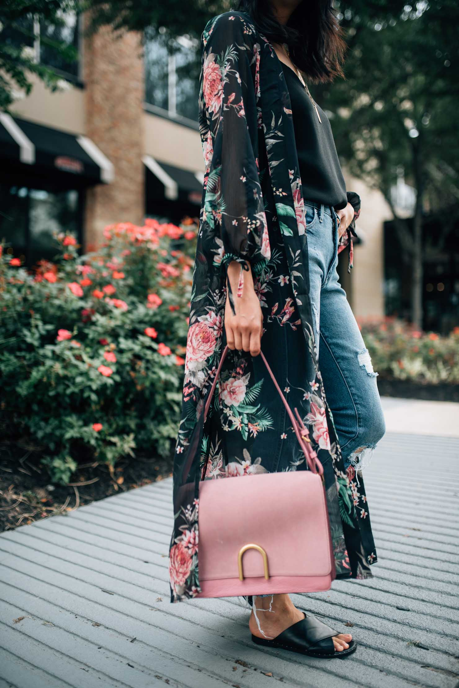 Fossil Bag | Pink Leather Bag | Summer Style | Lilly Beltran, fashion blogger