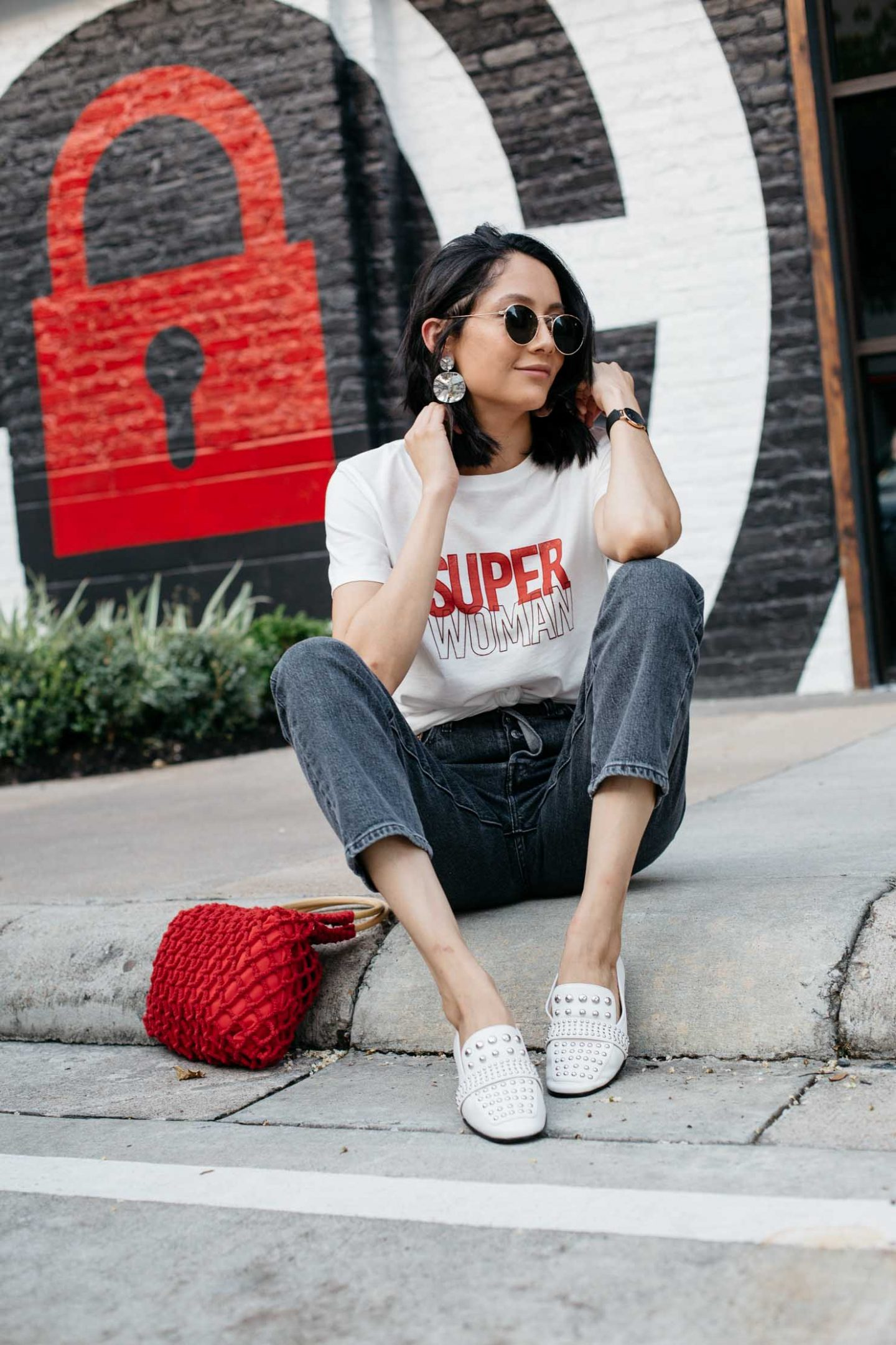 Street Style | Fall Styles To Wear Now | White Loafers | Lilly Beltran, fashion blogger | Street Style